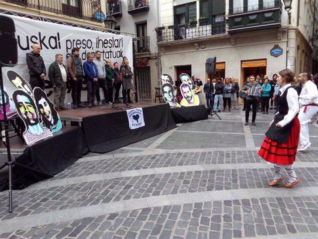 Homenajean en Bilbao al expreso de ETA Germán Urizar, un día antes del aniversar