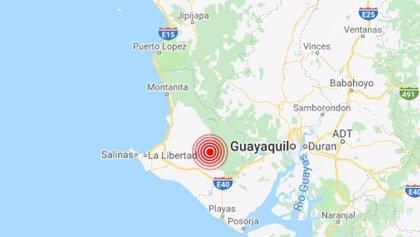 Un terremoto de 5,3 grados sacude las costas de Ecuador