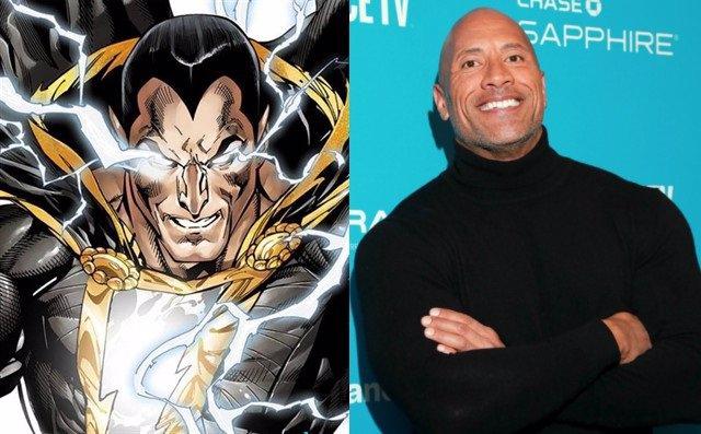 Dwayne Johnson celebra el taquillazo de Shazam! y anuncia que Black Adam se roda