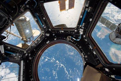 La Estación Espacial alberga microbios como un gimnasio en la Tierra