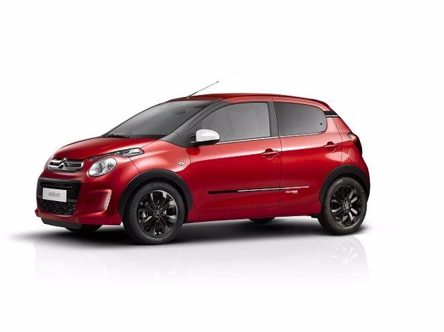 Economía/Motor.- Citroën lanza la serie especial Urban Ride para el C1
