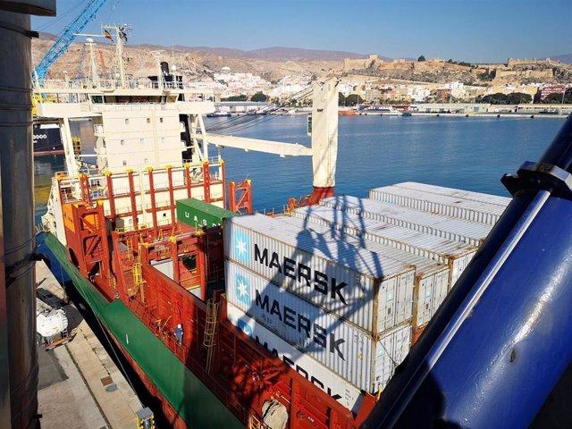 Almería.-Puertos.- La APA registra en febrero un tráfico de 1,21 millones de ton
