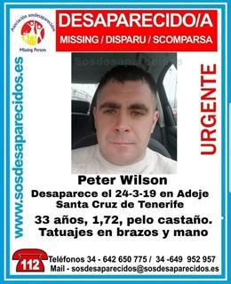 Sucesos.- Buscan a un varón de 33 años desaparecido en Adeje (Tenerife)