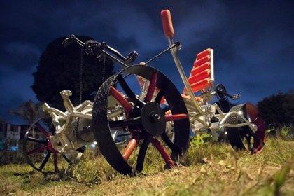 Este es el vehículo de tres ruedas tripulado que estudiantes peruanos presentarán en la NASA para enviar a Marte