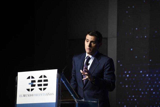 Albert Rivera participa en el espacio de foros 'La España Necesaria' organizada