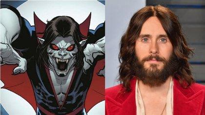 Nueva y sangrienta imagen de Morbius, el vampiro de Jared Leto