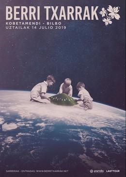 Berri Txarrak actuarán el 14 de julio en Kobetamendi