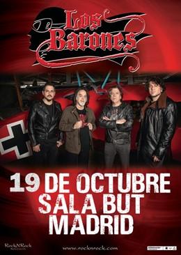 Los Barones anuncian su primer concierto en Madrid