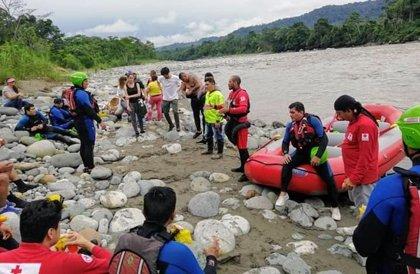 El cónsul adjunto de España en Quito acompañará a los familiares del joven desaparecido en Ecuador a la zona de búsqueda