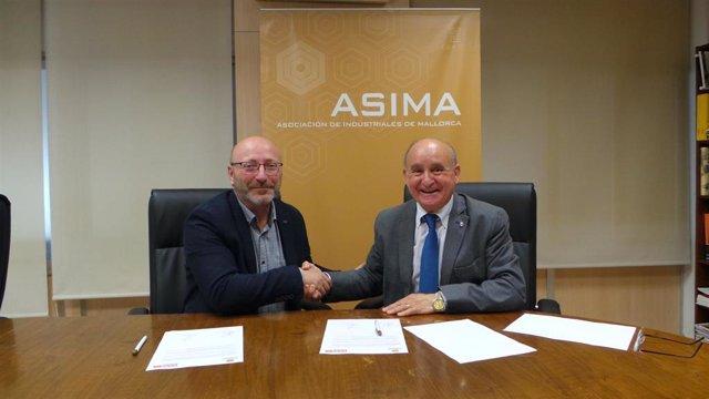"""Asima y CCOO firman un convenio para buscar soluciones a los """"problemas de movil"""