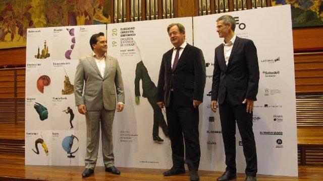 Robert Treviño afronta su tercera temporada como titular de la OSE, orquesta que