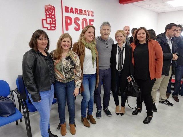 """Cádiz.-28A.- Marlaska destaca la """"preocupación"""" del Gobierno por la pesca y aseg"""