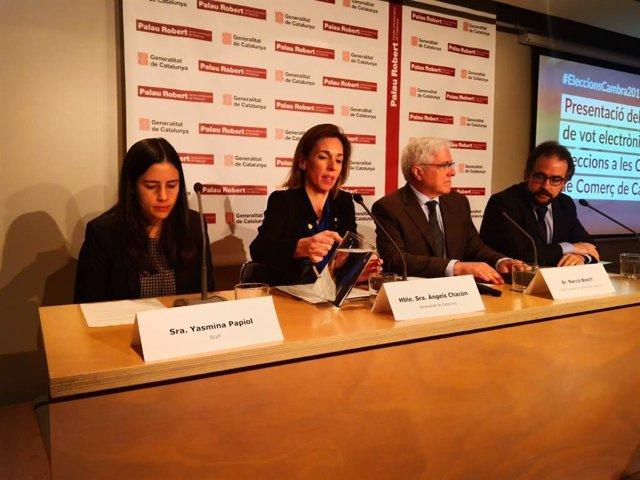 Chacón defensa que el vot electrnic en les cmeres garanteix el resultat i