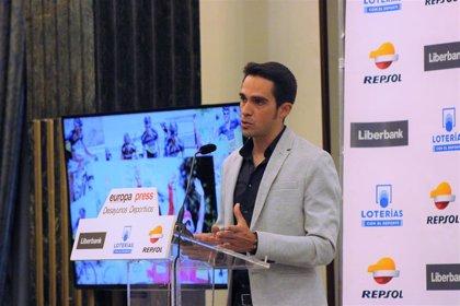 El exciclista Alberto Contador recogerá el 3 de mayo en Oviedo la Insignia de Oro de la Vuelta Ciclista a Asturias