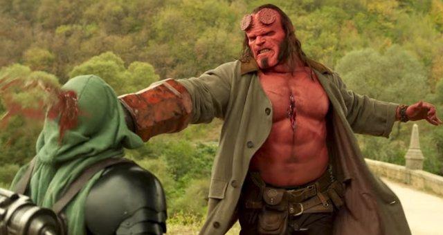 Nuevo e hiperviolento adelanto de Hellboy... Con Lobster Johnson