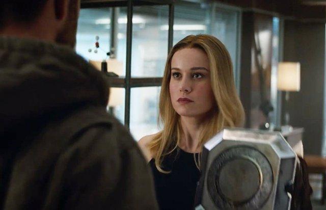 Endgame: Capitana Marvel revela su plan contra Thanos y dónde estuvo todos estos