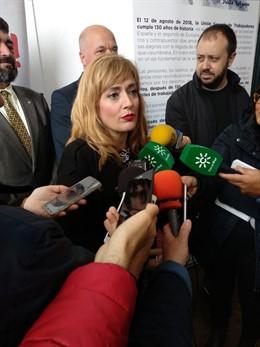 28A.-Carmen Castilla (UGT-A) Dice A Los Partidos Que Lo Que Más Preocupa A La Cl