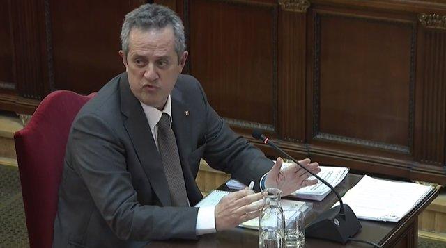 Interrogatorio a Joaquim Forn en el juicio por el procés