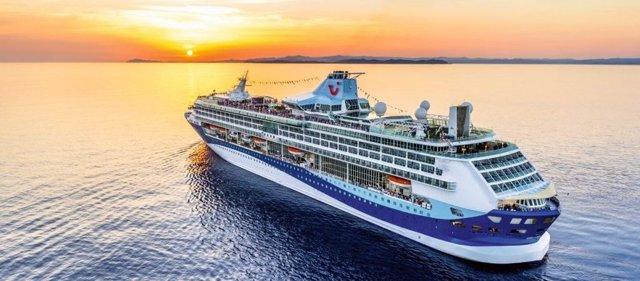 La temporada de creuers s'inaugura al Port de Palamós amb 1600 passatgers