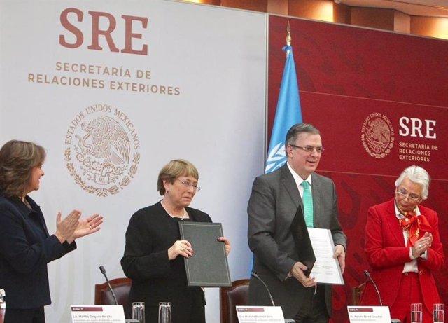 México.- México firma un acuerdo de asistencia técnica con la ONU para investiga