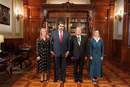 """López Obrador: """"México tiene las puertas abiertas para buscar una salida pacífica en Venezuela"""""""