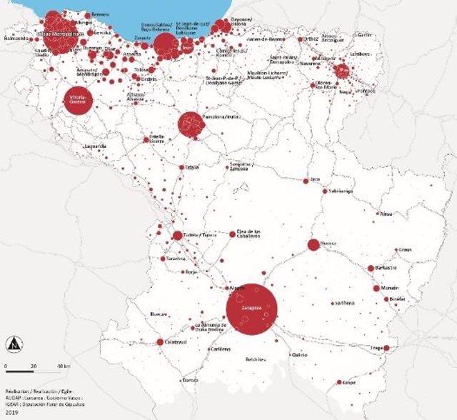 Euskadi, Navarra, Aragón y departamento francés de Pirineos Atlánticos elaboran