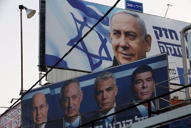 Israel.- Israel acude a las urnas para unas disputadas elecciones con Netanyahu y Gantz como favoritos