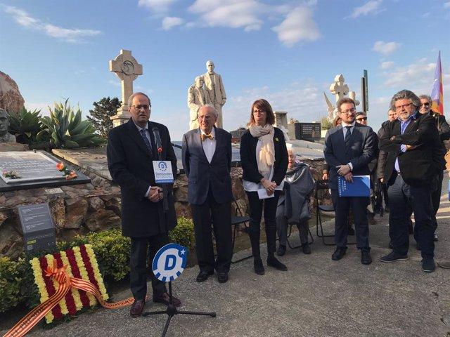 Torra crida a mantenir la lluita de Carrasco i Formiguera per la independència