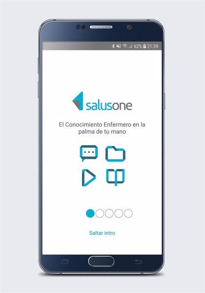 SalusOne, una aplicación que permite consultar dudas en tiempo real y reforzar la prescripción enfermera