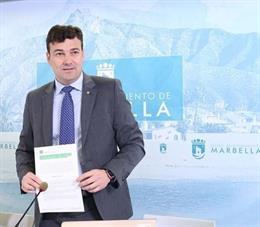 Málaga.-26M.- El concejal Cristóbal Garre repetirá como número dos de la candida