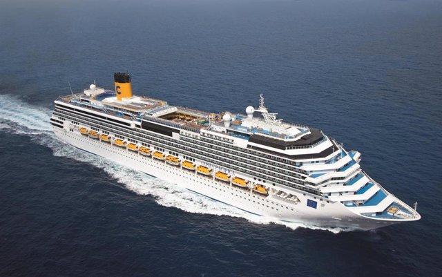Málaga.- Turismo.- Costa Cruceros inicia temporada en Málaga con el Costa Pacífi