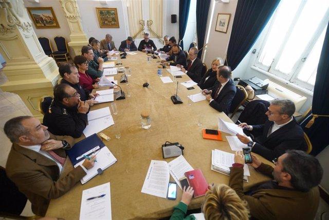 Málaga.-El dispositivo oficial de seguridad en Semana Santa en Málaga contará co