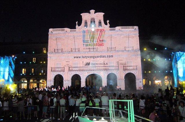 Monumentos de Salamanca servirán de lienzos para las proyecciones del Festival d