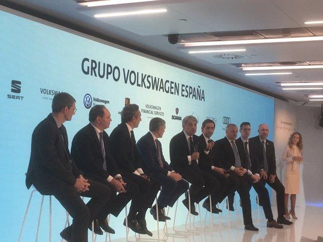 Economía/Motor.- Volkswagen Afirma Que La Incertidumbre Por El Diésel Genera Una