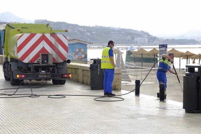Málaga.- De la Torre valora la compensación económica del Ayuntamiento a Limasa: