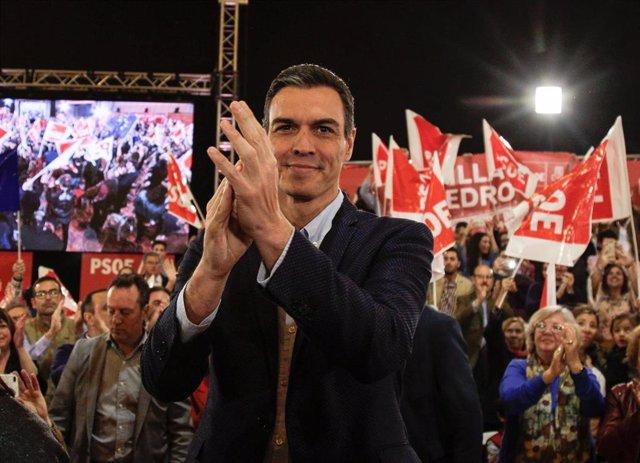 28A.- Sánchez diseña una campaña para captar voto indeciso y urbano, con actos d