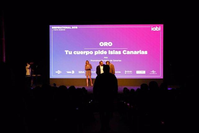 Promotur Turismo de Canarias, una de las empresas premiadas en el festival publi
