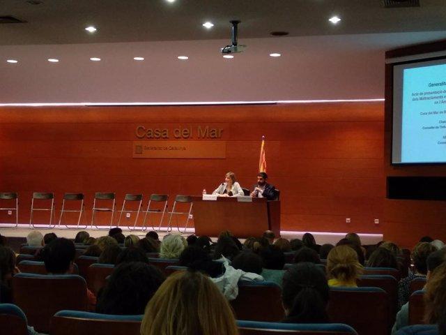 Av.- Catalunya actualitza el protocol de maltractament infantil en salut i ho am