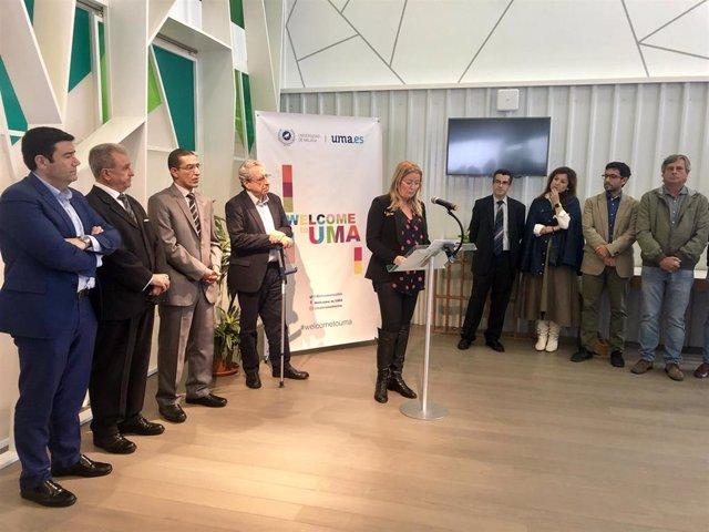 Málaga.- Inaugurada 'Wellcome to UMA', una oficina para facilitar la estancia de