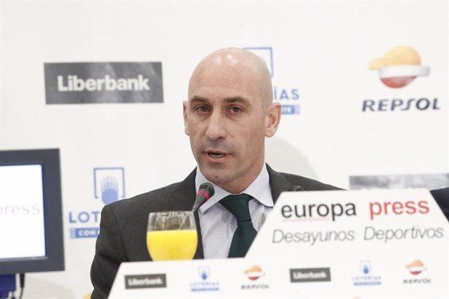 """Fútbol/Copa.- Rubiales propone """"partido único hasta semifinales"""" y el """"formato a"""
