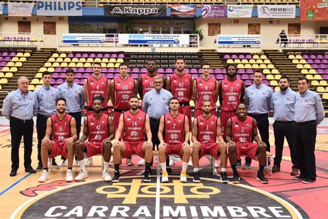 Jugadores del CB Carramimbre Ciudad de Valladolid firmarán mañana autógrafos en