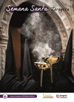 Zaragoza.- Correos dedica una tarjeta postal prepagada a la Semana Santa de la c