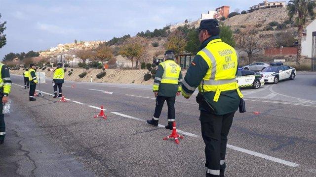 Jaén.- Denunciados casi 400 conductores en las carreteras jiennenses durante la