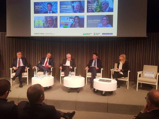 El 'top manta' confronta posicions de candidats a l'Alcaldia de Barcelona sense