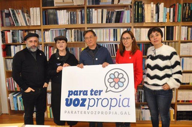 """Un total de 150 intelectuales apoyan al BNG como la """"única"""" organización polític"""