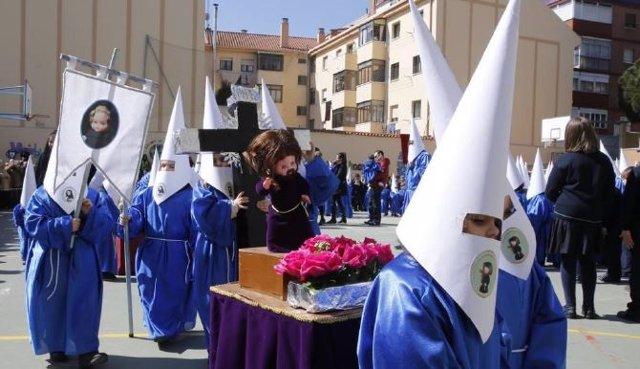 Valladolid (25-03-2018).- Procesión infantil