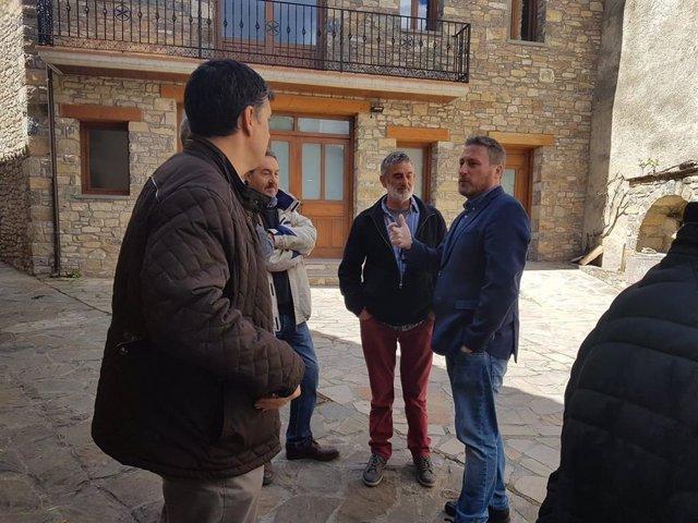 Soro visita las iniciativas impulsadas desde el proyecto 'Empenta' Artieda para