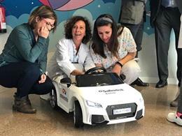 Los niños del Hospital de Terrassa podrán moverse con dos coches eléctricos de j