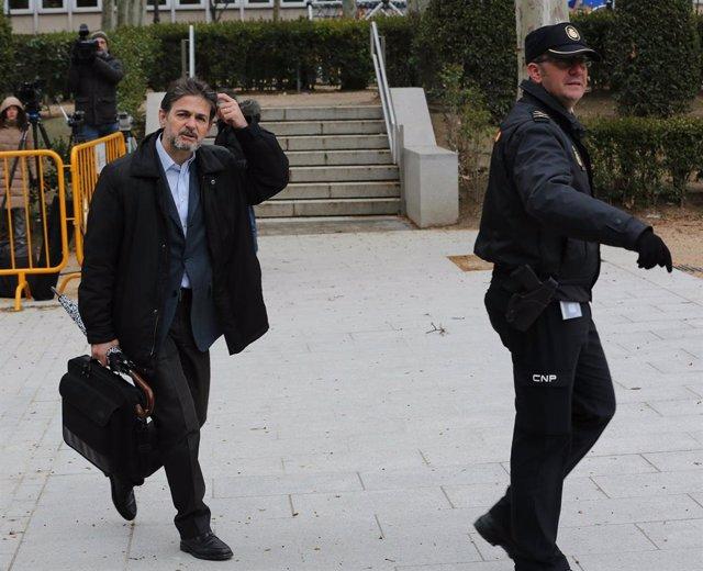 Oriol Pujol acudeix a l'Audiència Nacional a declarar