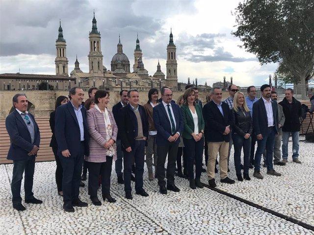 26M.- Zaragoza.- Pilar Alegría Asegura Que El PSOE Está Preparado Para Gobernar